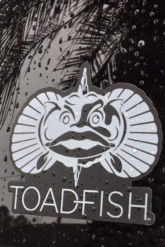 Toadfish Stacked Decal