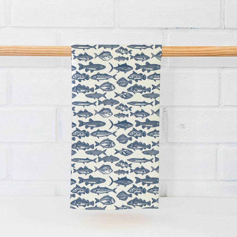Coastal Kitchen Tea Towel 2-pack