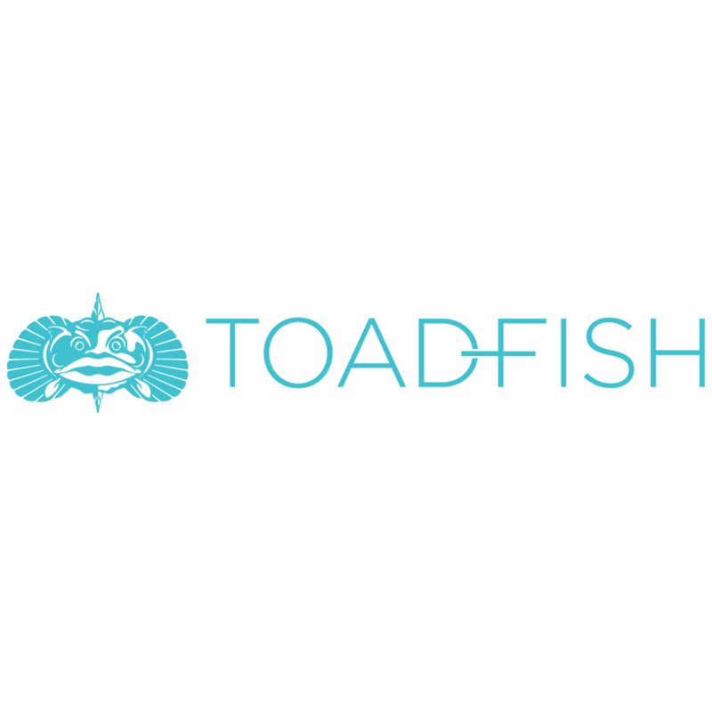 Toadfish Long Decal