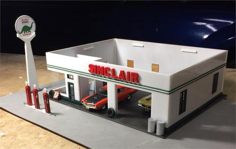 MINI-MOTORS, Inc. - Moden Deco Gas Station Kit