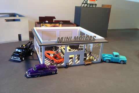MINI-MOTORS, Inc. - Exclusive Release - Automotive Showroom Kit