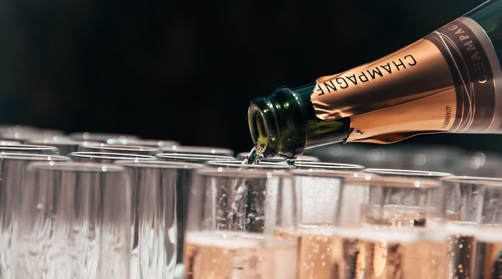 champagne and champagne only holiday gifts
