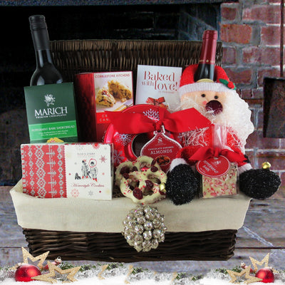 Custom Christmas Gourmet Gift Baskets