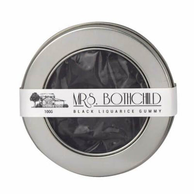 Mrs Bothchild Black Liquorice Gummies