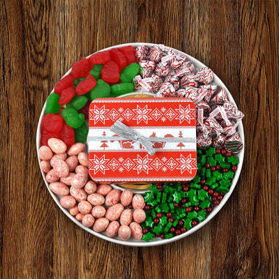 Christmas Candy and Chocolate Platter