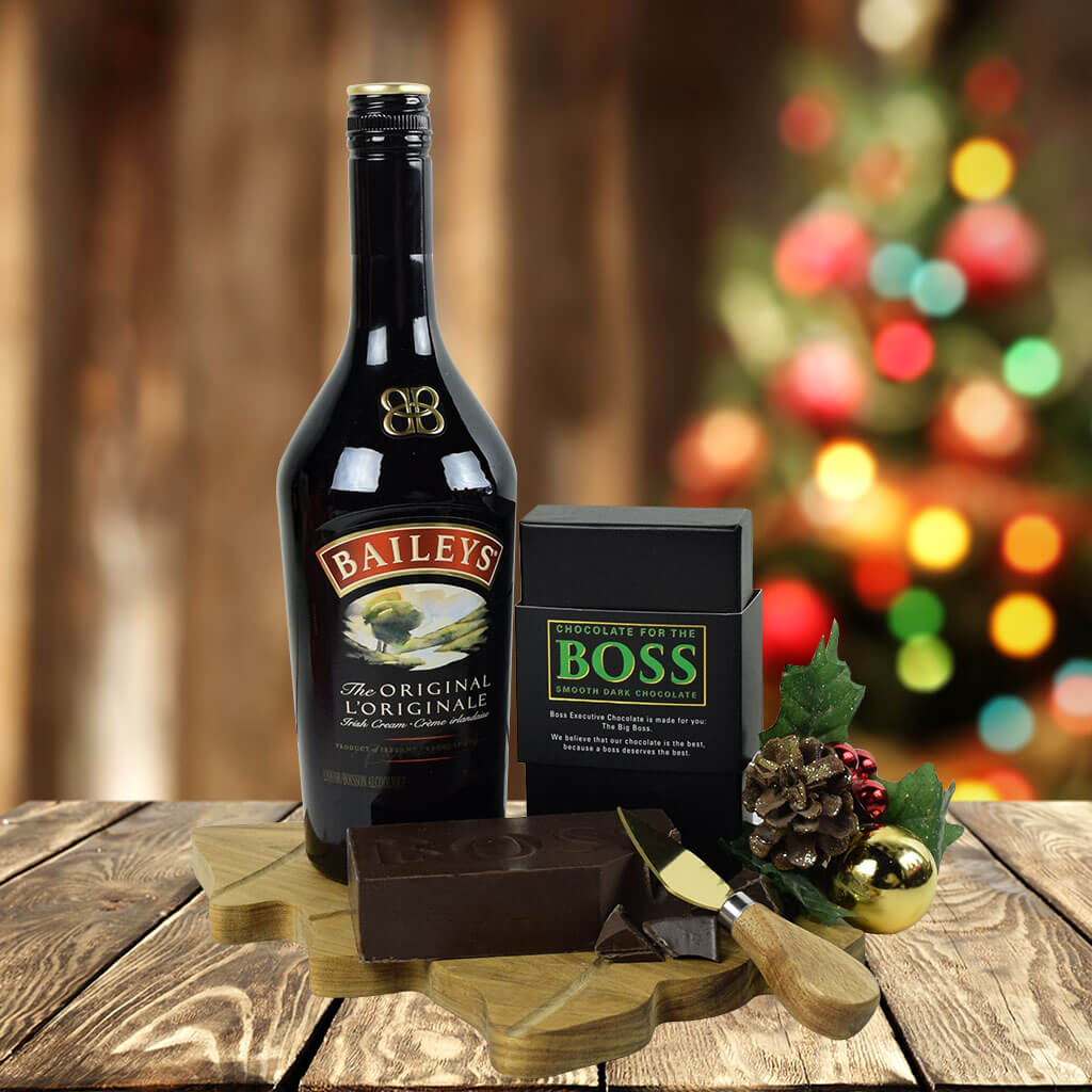 Christmas Alcohol Gift Sets.The Liqueur Boss Chocolate Gift Set