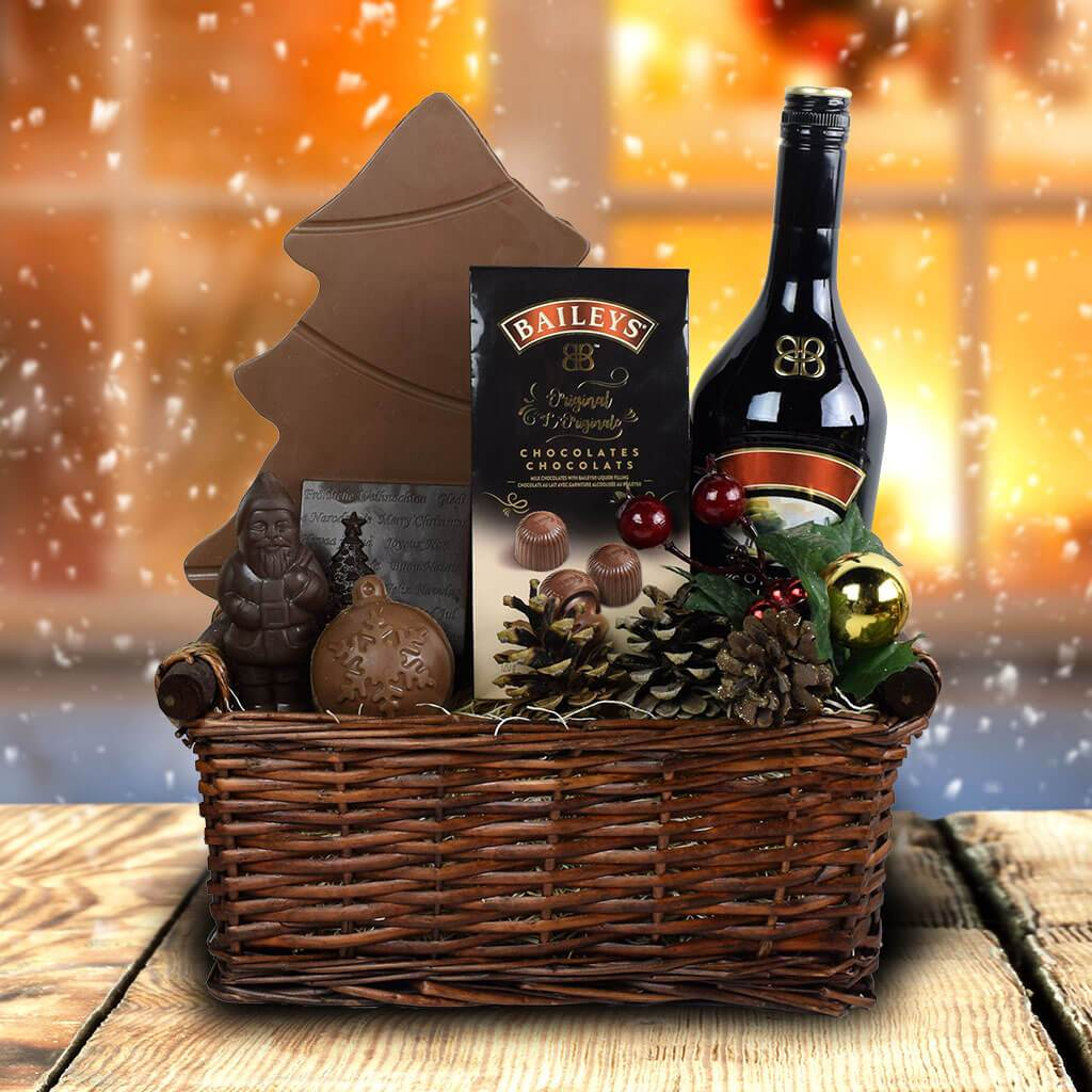 custom christmas liquor gift baskets christmas liquor gifts