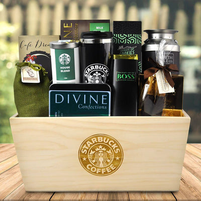 The Starbucks Coffee Gift Basket