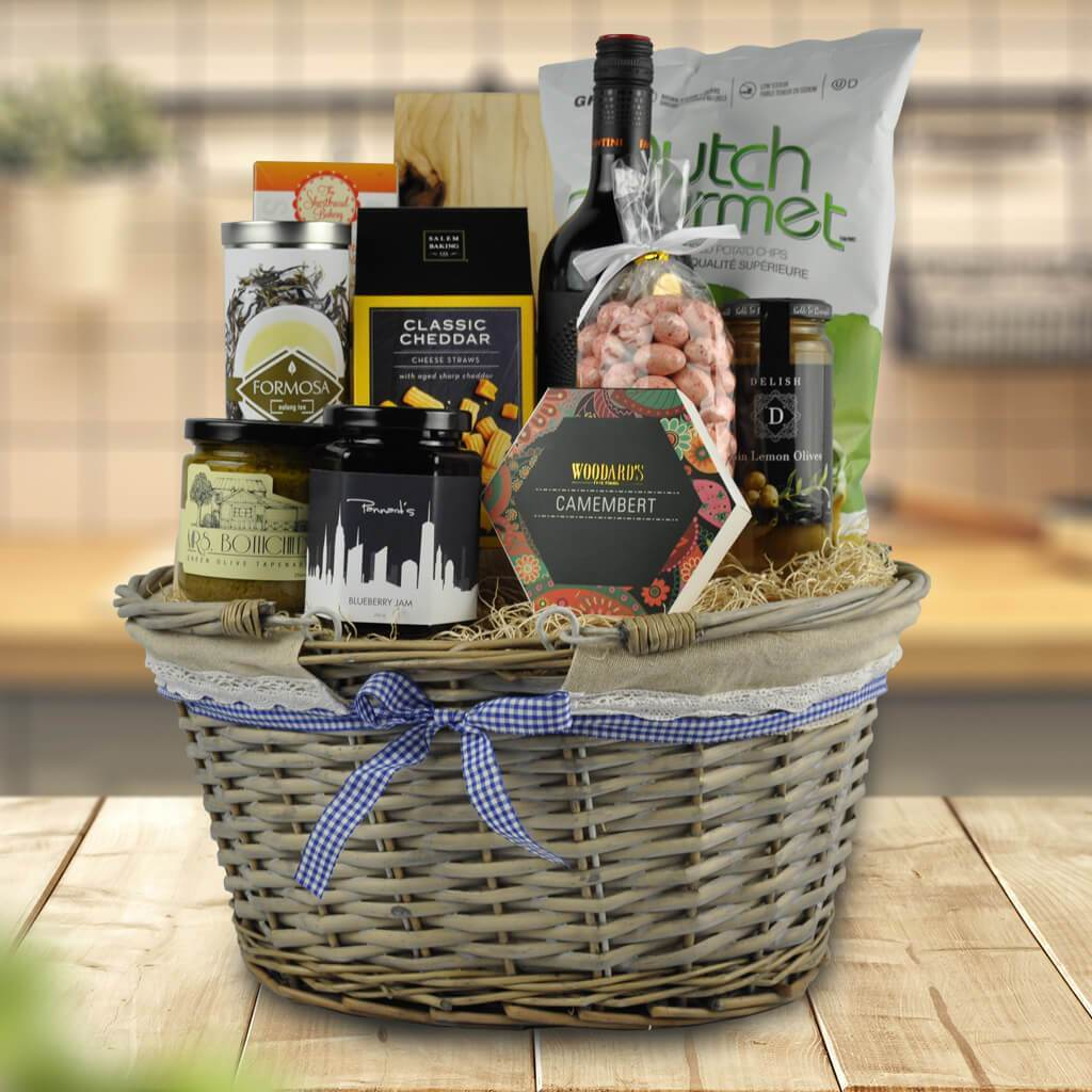 Christmas Wine Gifts | The Wine & Cheese Shop Basket - North Pole ...