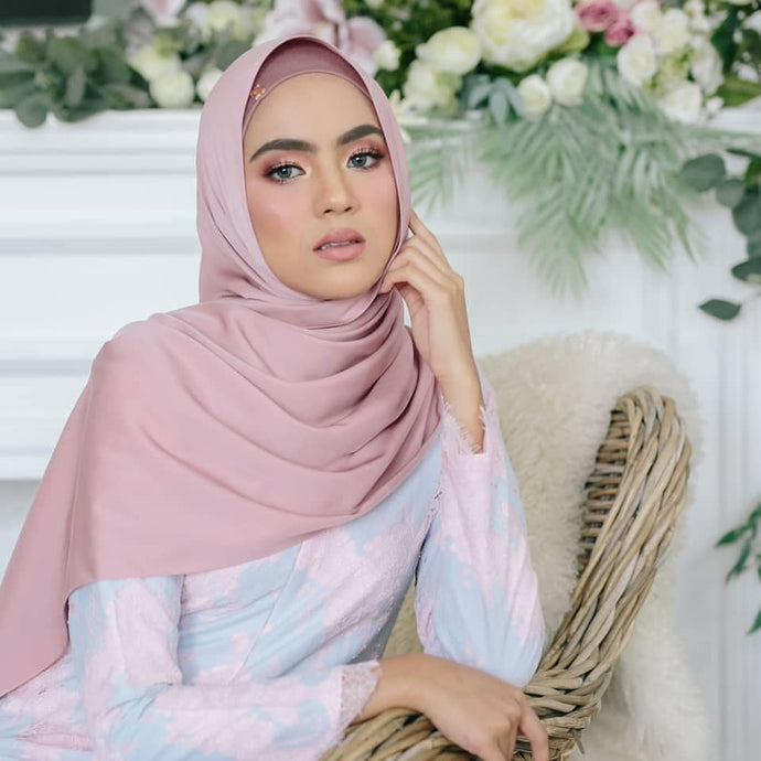 Malya Semi Instant Shawl By Nyleascarf