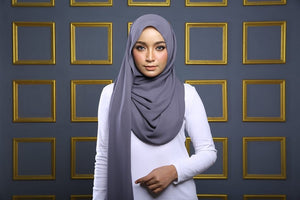Bella Semi Instant Shawl By HijabVille