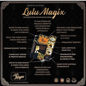 Lulu Magix Eyelash Growth Serum