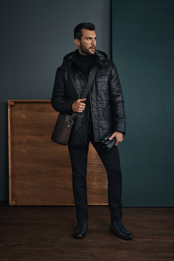 Men's outerwear for cold winter weather