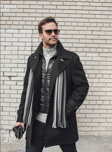 wool overcoat for men