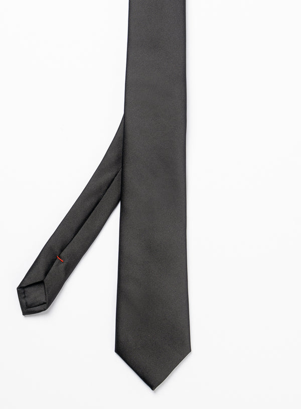 Classic Black Tie - Anthony Of London -BLACK