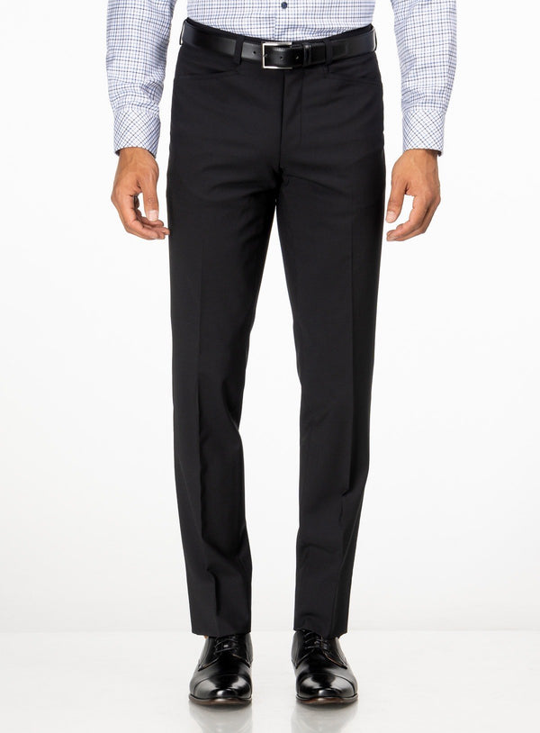 NEW FRANCO PANTS FROM BRAND RIVIERA. ERNEST -BLACK