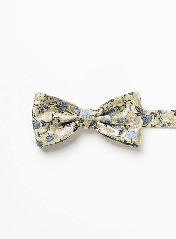 Yellow Floral Bow Tie - Marco Ferrera -YELLOW