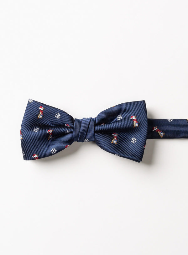 NAVY PENGOUIN BOW TIE FROM BRAND ANTHONY OF LONDON. ERNEST -NAVY
