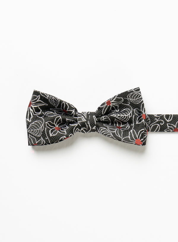 Red Dot Bow Tie - Marco Ferrera -BLACK