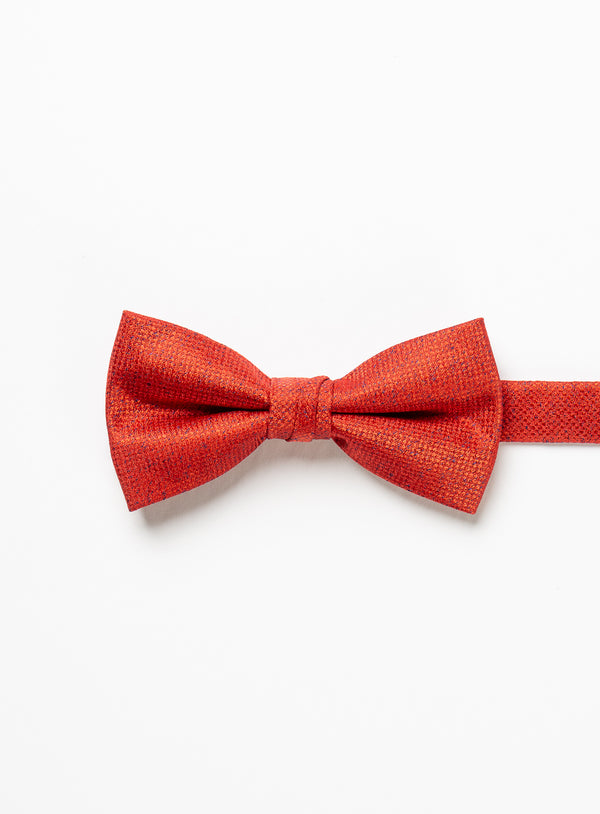 Solid Red Bow Tie - Anthony Of London -RED