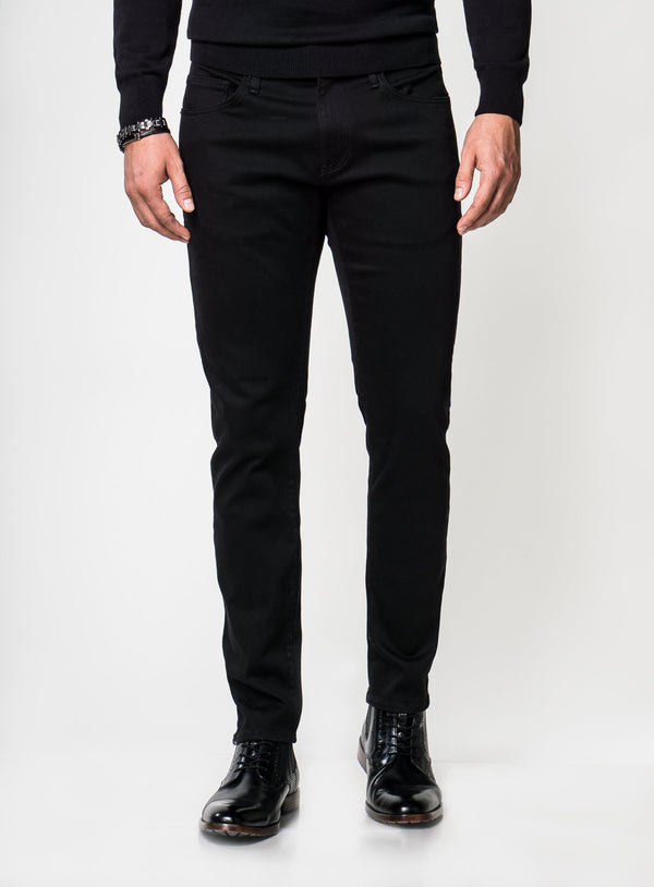"""Jake"" Black Supermove Jeans - Mavi -BLACK"