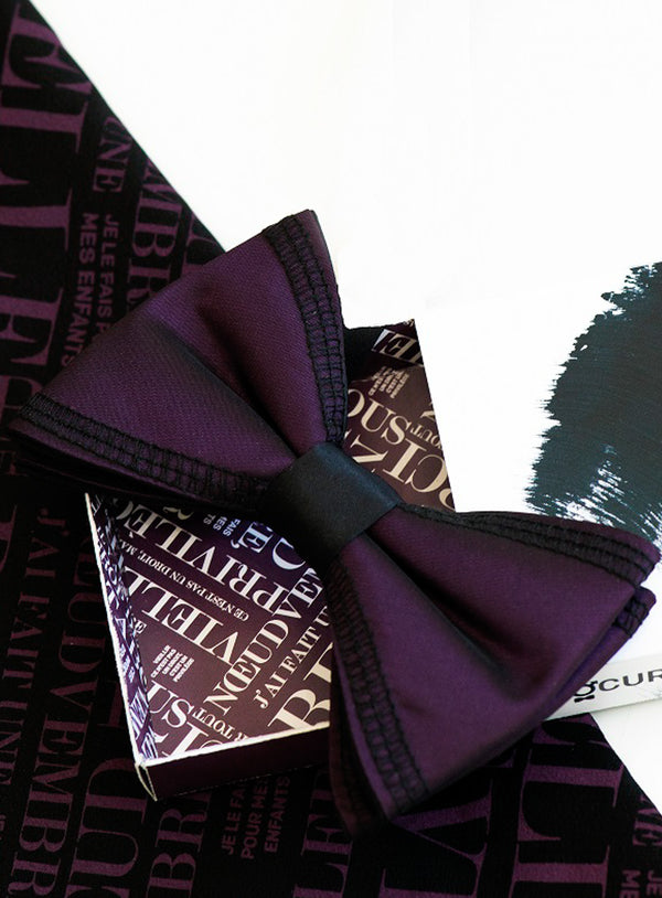 """Bowvember"" Bow Tie and Pocket Square - Procure -MULTICOLOUR"
