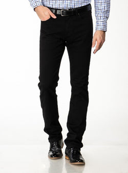 BLACK VINTAGE JEANS - COURAGE FROM BRAND HERITAGE. ERNEST -BLACK