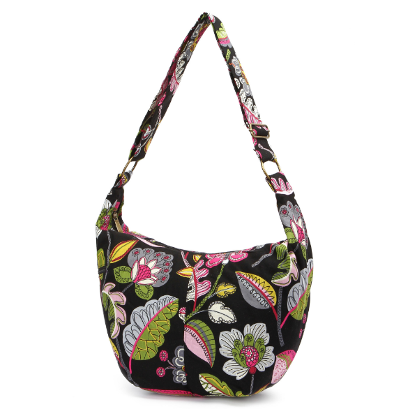 Flowers Shoulder Handbag