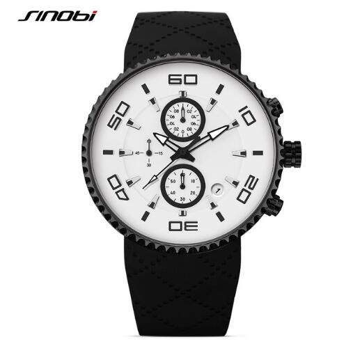 SINOBI  Sports Watches Stopwatch 30m Waterproof
