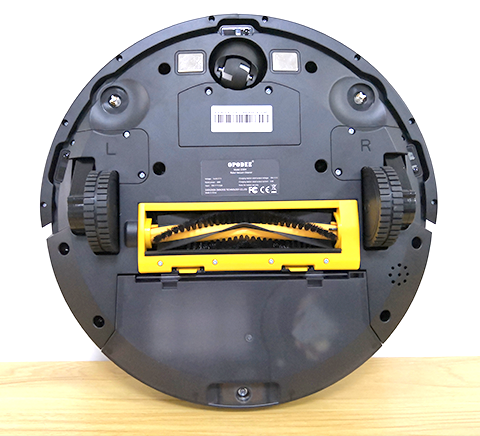 robotic vacuum cleaner bottom
