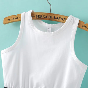Women Knitted Stretch Tank Top