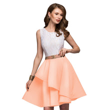 Women's Sleeveless Flare Dress