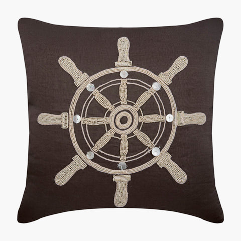products/Sailboat_Wheel-Brown_Linen-Sailors_Wheel-Bead_Embroidery-Pearl_Pillow-Mother_Of_Pearl-Sea_Creatures-Sea_Theme-_Beach_Theme-_Nautical-Coastal_Decor_1.jpg