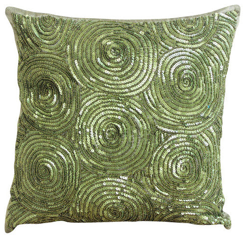 All Eyes On Silver - Silver Art Silk Throw Pillow Cover