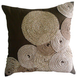 Adorned By Jute Pillow Cover