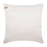 Arzoo - Ivory Taffeta Throw Pillow Cover