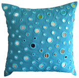 Blue Mirror Pillow Cover