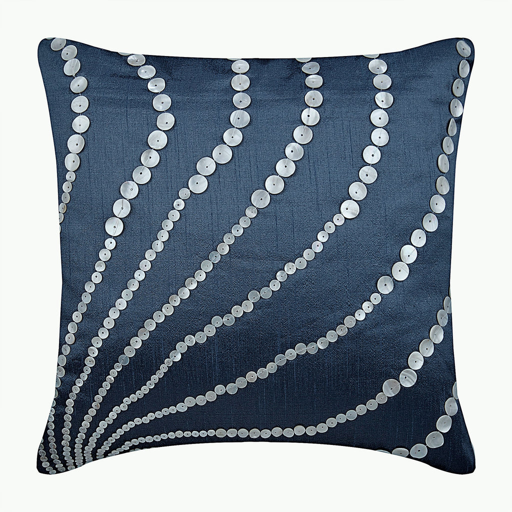 Blue Moon Pillow Cover
