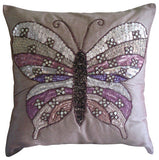 Butterfly Love Pillow Cover