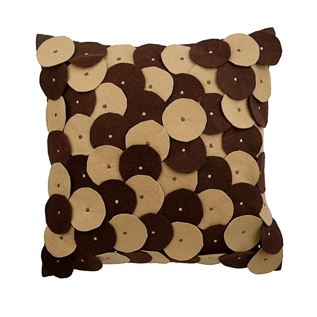 Chocolate Souffle Pillow Cover