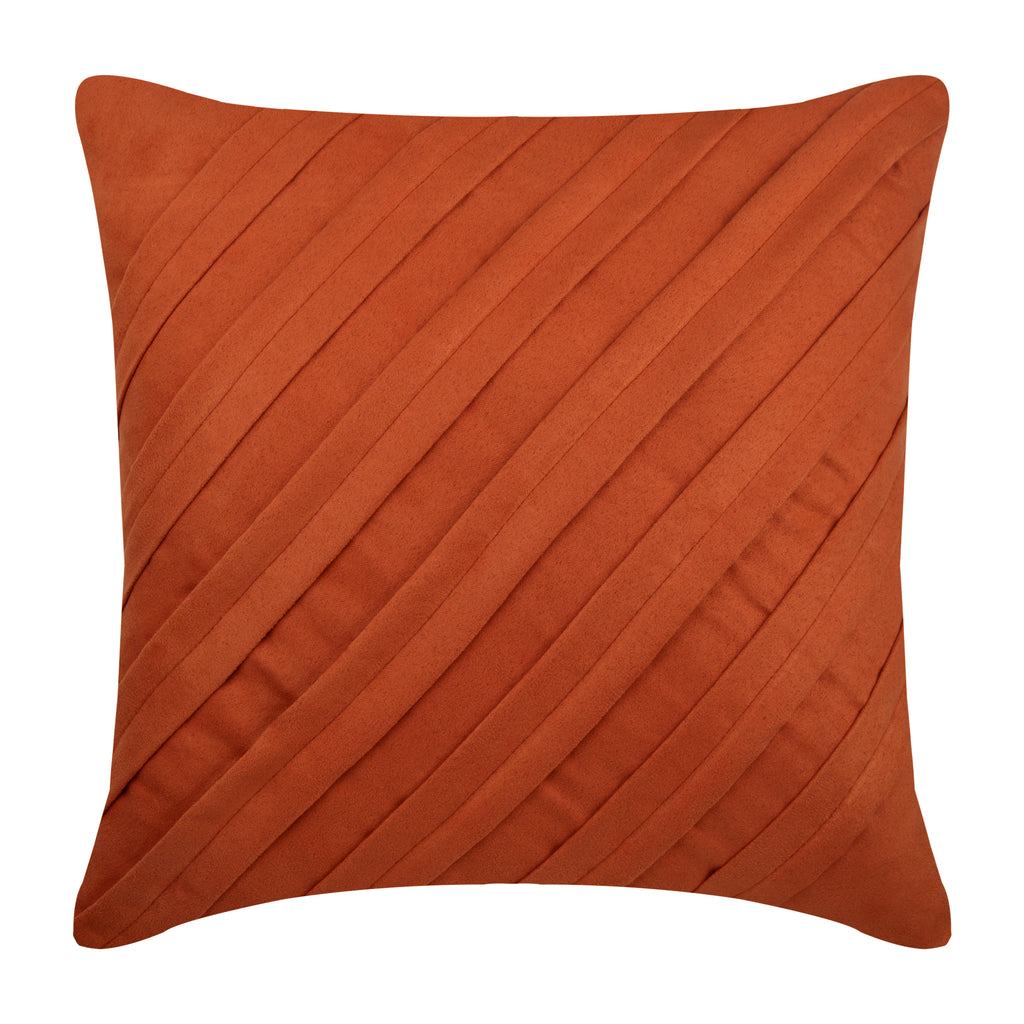 Contemporary Rust Pillow Cover