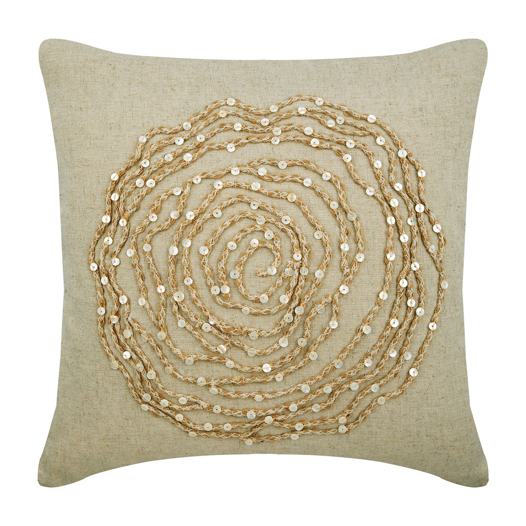 Earthy Rose Pillow Cover