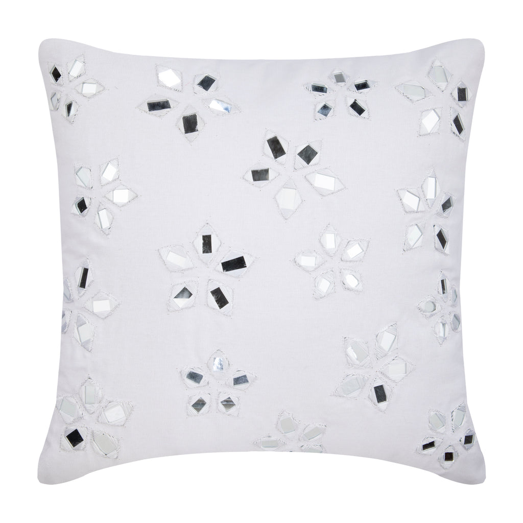 Floral Lake Pillow Cover