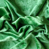 "54"" Wide Royal Green Velvet Fabric by the Yard"