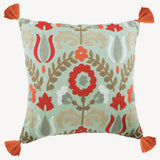 Folk Beauty Pillow Cover