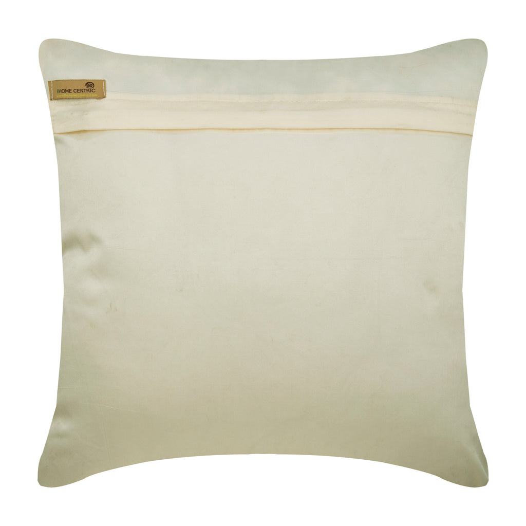Gold Coin - Gold Silk Throw Pillow Cover