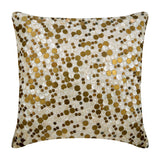 Gold Coin Pillow Cover