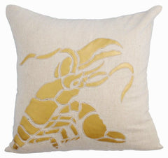 Lobster Outdoor Throw Pillow Cover