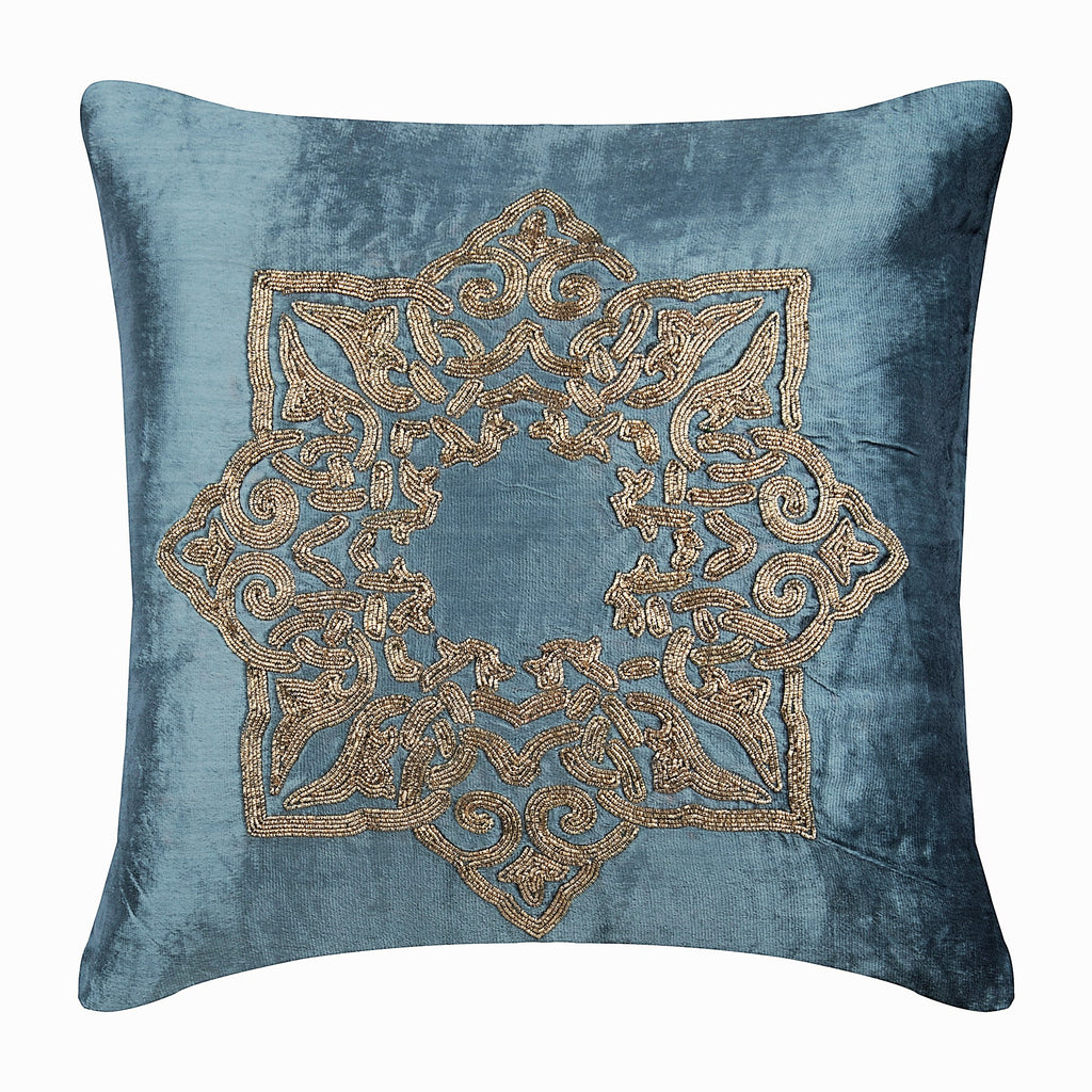 Gold Plated Pillow Cover