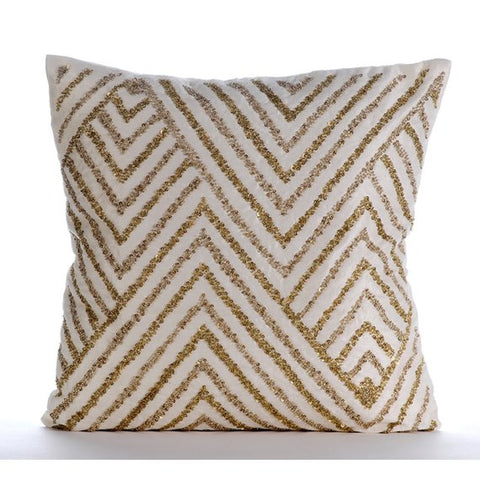 products/gold-silver-tinsel-ivory-silk-chevron-modern-pattern-lattice-trellis-beaded-pillow-covers.jpg